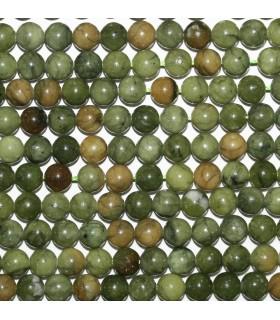 Vesuvianite Round Beads 6mm.-Strand 39cm.-Item.9659