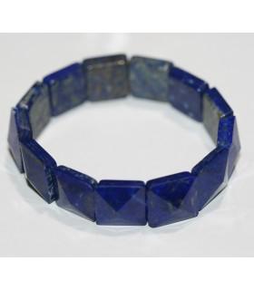 Lapis Lazuli Faceted Square Bracelet 14 - 15mm.-Item.9713