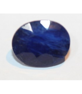 Zafiro Azul Oval 10x8mm 4ct Ref.077PE