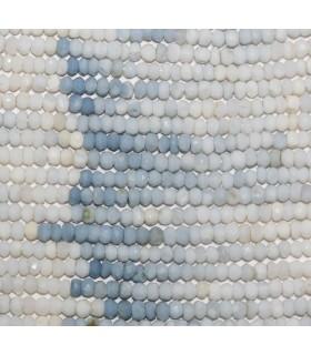 Opalo Azul Rodaja Facetada 4x3mm.-Hilo 33cm.-Ref.9848