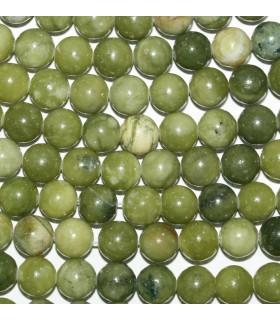 Vesuvianite Round Beads 8mm.-Strand 40cm.-Item.10105