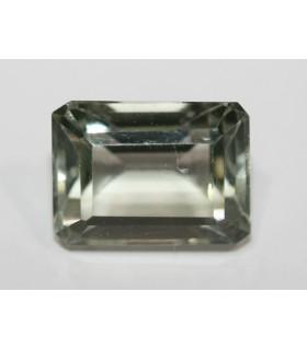 Prasiolita Octagono Facetada ( 6.5CT ) 12.5x9.5mm.-Ref.019PE