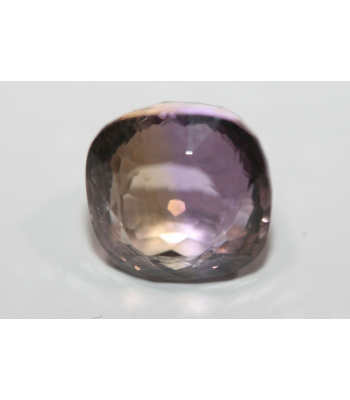 Ametrine Faceted Square ( 4 CT ) 9mm.-Item.014PE