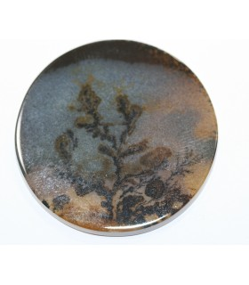 Dendritic Agate Disk 37mm.-Ref.995cb