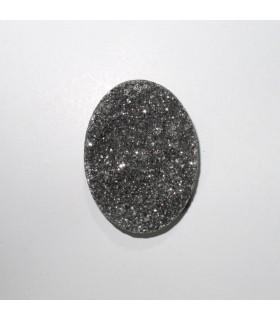 Cabujón Agata Druzzy Oval 40x30 mm. (2 piezas).- Ref: 542CB