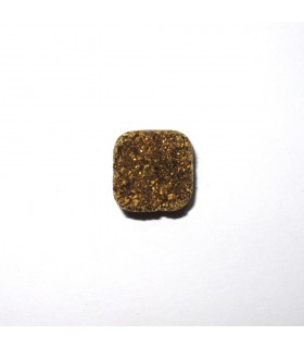 Cabujón Agata Druzzy Cuadrado 12 mm. (6 piezas).- Ref: 506CB