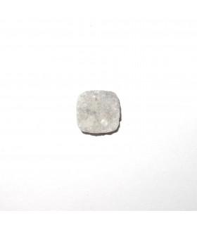 Druzy Agate Square Cabochon 12 mm. (6 pcs.).- Item: 550CB
