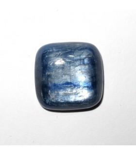 Cabujón Cianita Cuadrado 15 mm. (4 piezas).- Ref: 523CB