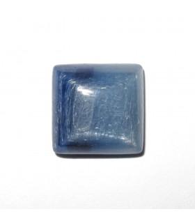 Cabujón Cianita Cuadrado 10 mm. (6 piezas).- Ref: 608CB