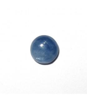 Cabujón Cianita Redondo 6 mm. (10 piezas).- Ref: 520CB