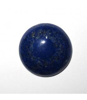 Lapis Lazuli Round Cabochon 20 mm. (2 pcs.).- Item: 856CB