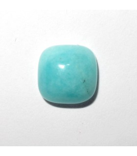Amazonite Square Cabochon 8 mm. (10 pcs.).- Item: 593CB
