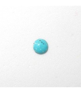 Turquoise Round Cabochon 4 mm. (20 pcs.).- Item: 886CB
