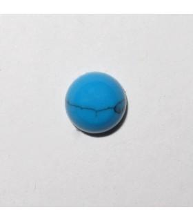 Cabujón Howlita Redondo 6mm. (8 piezas).- Ref: 623CB