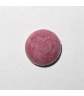 Rhodonite Round Cabochon 9 mm. (9 pcs.).- Item: 915CB