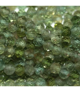 Green Apatite Faceted Round 3mm.-Strand 39cm.-Item.10129