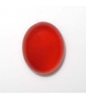 Cabujon Carneola Oval 12x10 mm. (10 piezas).- Ref: 529CB