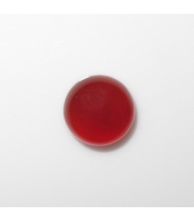 Cabujon Carneola Redondo 8 mm. (16 piezas).- Ref: 904CB