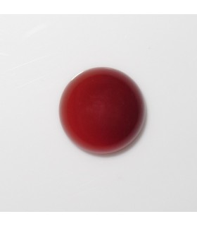 Carnelian Round Cabochon 10 mm. (9 pcs.).- Item: 905CB