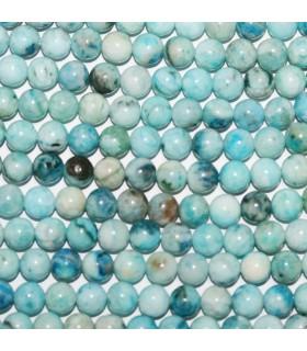 Hemimorphite Round Beads 6mm.-Strand 40cm.-Item.10142