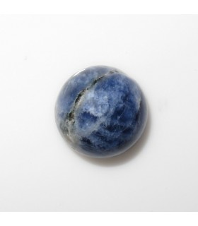 Sodalite Round Cabochon 8 mm. (10 pcs.).- Item: 621CB