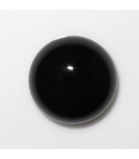 Cabujon Onix Redondo 12 mm. (8 piezas).- Ref: 892CB