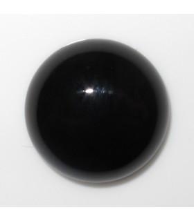 Cabujon Onix Redondo 16 mm. (8 piezas).- Ref: 893CB