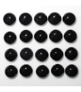 Cabujon Onix Redondo 6 mm. (20 piezas).- Ref: 889CB