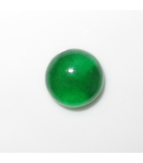 Green Jade Round Cabochon 10 mm. (4 pcs.).- Item: 971CB