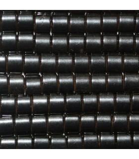 Hematite Rectangular Liso 3.5x4.5mm.-Hilo 40cm.-Ref.10233