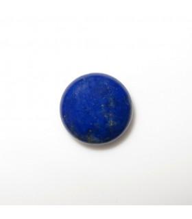 Lapis Lazuli Coin Cabochon 10 mm. (6 pcs.).- Item: 1012CB