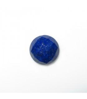 Lapis Lazuli Faceted Round Cabochon 9 mm. (6 pcs.).- Item: 1013CB