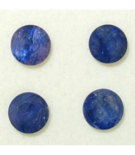 Lote Zafiro Azul Redondo Facetado 6 mm. (4.7 ct.).- Ref: 029LO