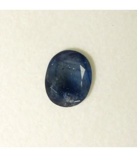 Zafiro Azul Oval Facetado 11x9 mm. aprox. (3.6 ct.).- Ref: 154PE