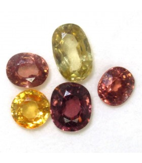 Lot Zircon Faceted Oval (10.9 ct.).- Item: 049LO