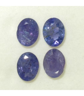 Lot Tanzanite Faceted Oval 8x6 mm.- Item: 055LO
