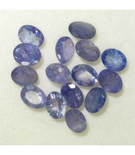 Lot Tanzanite Faceted Oval 5x3 mm.- Item: 056LO