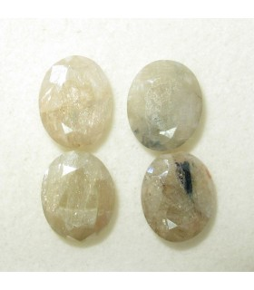 Lot Silimanite Faceted Oval 10x8 mm (10.3 ct.).- Item: 171PE