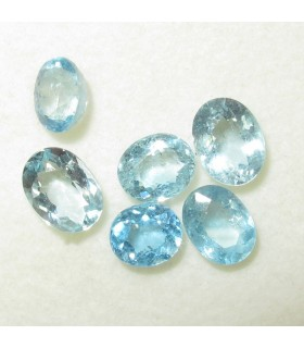 Lot Aquamarine Faceted Oval (4.7 ct.).- Item: 065LO