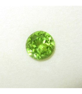 Peridot Faceted Round 9 mm. (3.9 ct.).- Item: 178PE