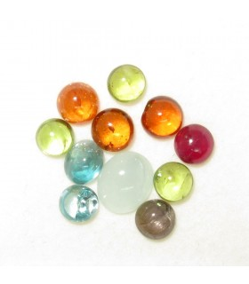 Lot Multi Stone Cabochon (10 ct.).- Item: 086LO