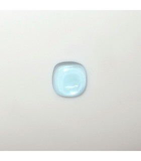 Sky Topaz Cushion Cabochon 7 mm. (1 pcs.).- Item: 188PE