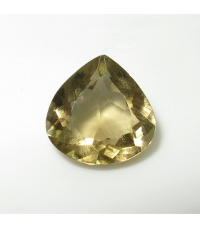 Lemond Quartz Faceted Drop (7.1 ct.).- Item: 210PE