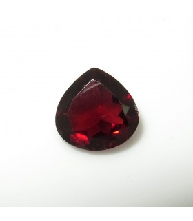 Garnet Faceted Drop 10 mm. (3.4 ct.).- Item: 255PE