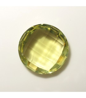 Lemond Quartz Briolette Round 16 mm. (12 ct.).- Item: 262PE