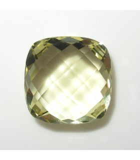 Lemond Quartz Briolette Cushion 16 mm. (14.7 ct.).- Item: 264PE