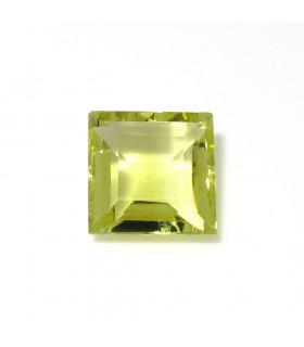 Lemond Quartz Faceted Square 15 mm. (12.9 ct.).- Item: 265PE