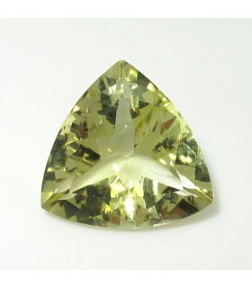 Lemond Quartz Faceted Trillion 19 mm. (17.7 ct.).- Item: 267PE