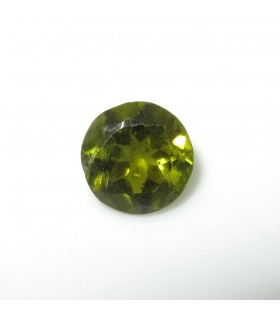 Green Turmaline Faceted Round 8 mm. (2.2 ct.).- Item: 269PE
