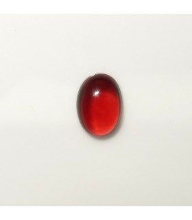 Garnet Oval Cabochon 7x5 mm. (1 pc.).- Item: 273PE